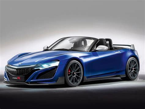 Honda Rejoins Sports Car Market With New S2000 The