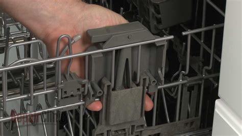 dishwasher rack repair right rack adjuster housing replacement kitchenaid