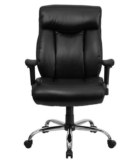 btod big and tall leather modern office chair chrome