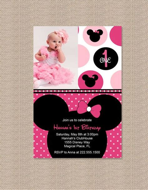 images  minnie mouse pink party  pinterest