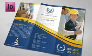 Tri-Fold Brochure Construction Company