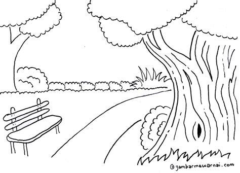 +106 Gambar Sketsa Pemandangan Lingkungan Gudangsket