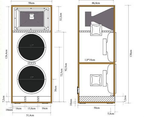 kumpulan skema box speaker lapangan terlengkap dan terbaru speaker design subwoofer box