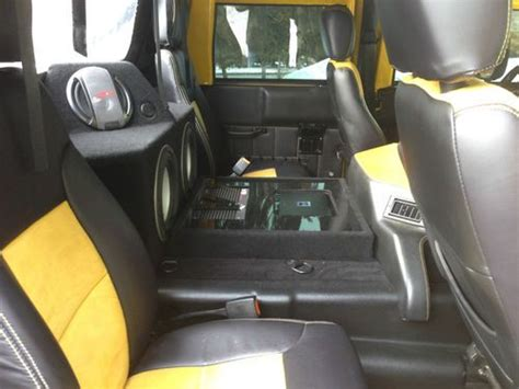 purchase   hummer  convertible custom interior