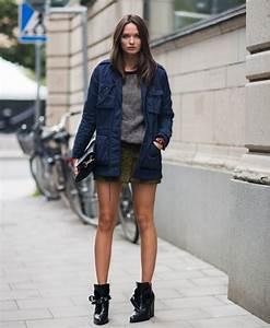 Bottines Avec Robe : robe chic boots le bon mix tendances de mode ~ Carolinahurricanesstore.com Idées de Décoration
