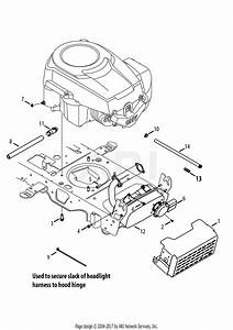 Mtd 13ax915t001  2013  Parts Diagram For Engine Accessories