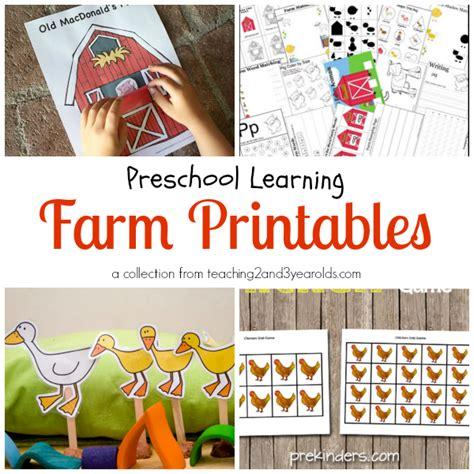 preschool farm theme 731 | Farm Printables Header