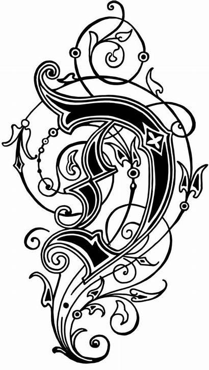 Alphabet Letters Letter Calligraphy Fancy Fonts Lettering