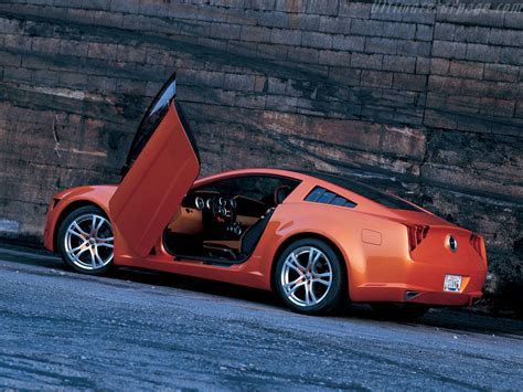 Ford Mustang Giugiaro Concept High Resolution Image 6 Of 12