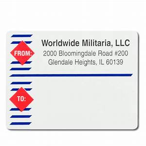 imprinted mailing shipping labels short run fast With address labels fast shipping