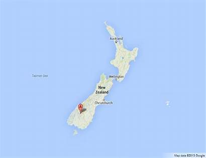 Queenstown Map Zealand