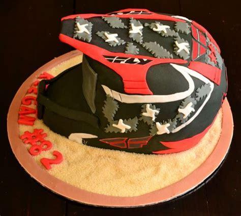 motocross helmet cake motorbike helmet cake car truck and motorbike cakes and