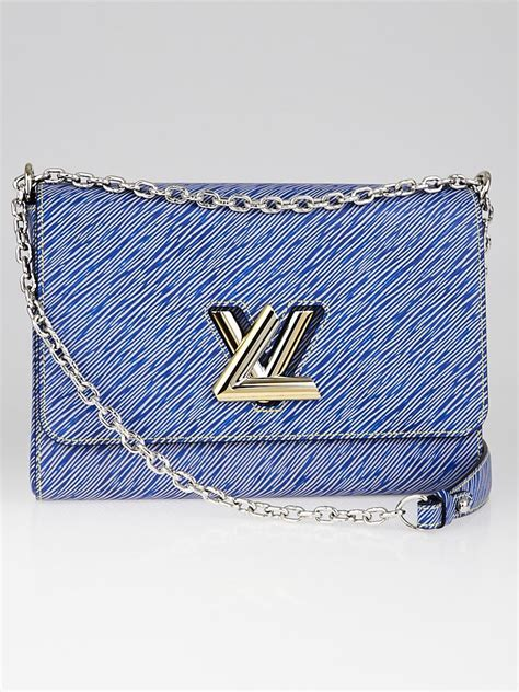 louis vuitton denim light epi leather twist gm bag yoogi