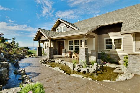 craftsman house plans pacifica    designs