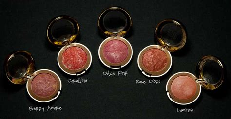 makeup review milani baked blush beautiful whim
