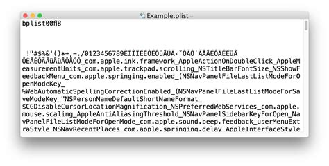 How To Convert Plist Files To Xml Or Binary In Mac Os X