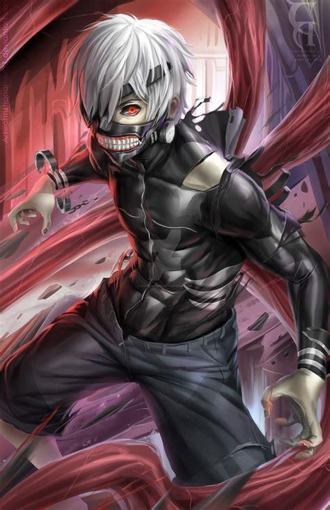 Kaneki Fanart By Christianamiel21 On Deviantart Anime