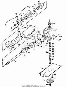 Gravely 11362 40 U0026quot  Deck Comm  Drive 2 Wheel Tractor Parts Diagram For Mower Drive