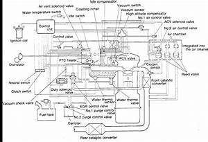 I Am Looking For A Vacuum Hose Diagram For A Mazda  B2000