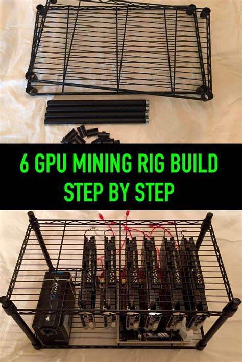 build a bitcoin miner 6 gpu mining rig build step by step crypto mining rigs