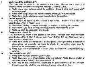 Instructions On A Practical Worksheet