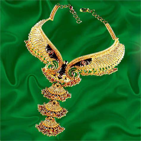 designer bridal gold necklace in chowrangi road kolkata west bengal india p c chandra