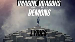 Imagine, Dragons, Demons, Lyrics