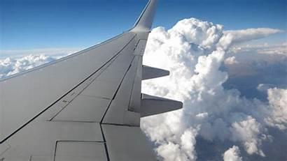 Wing Airplane Wings Sky Flying Aeroplano Turbulence