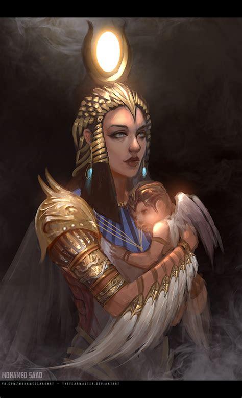 Egyptian Gods on Behance
