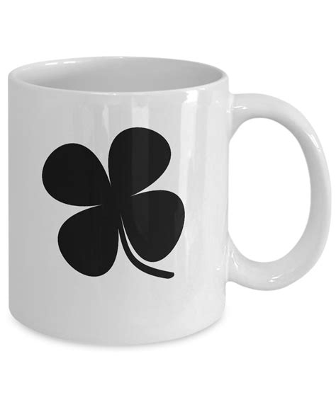 We'll have to wait and see, but it doesn't sound too good for all those vintage flour sacks… coffee cup on randolph 1333 randolph ave., st. Shamrock Mug White Coffee Cup Funny Gift St. Patrick's Day Four Leaf Clover | eBay