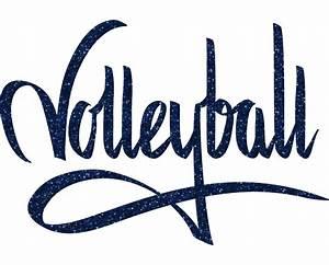 Volleyball graffiti transfer - Volleyball