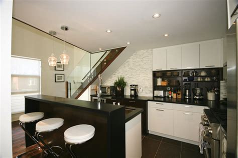 chrome bar stools contemporary kitchen benjamin