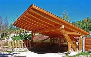 Carport An Hauswand : carport uit hout info tips en gratis offertes ~ Orissabook.com Haus und Dekorationen