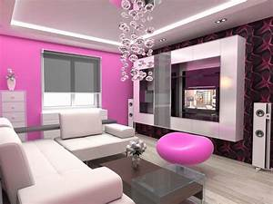 Modern style on pink sofas architecture interior design for Living room ideas decorating pictures