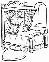 Coloring Bed Pages Hospital Drawing Printables Printable Getdrawings Clipart Building Getcolorings Para Colorear sketch template