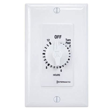 Intermatic Amp Hour Spring Wound Wall Timer