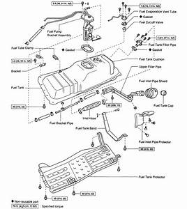 Toyota Gas Tank Vent Lines