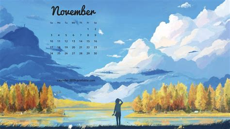 november  pc calendar wallpaper calendar