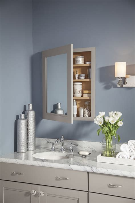 vanity wall mirror cabinet kemper