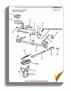 Cub Cadet Parts Manual For Model 1450