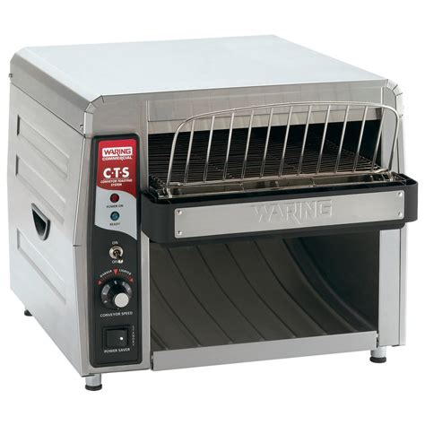 toaster oven commercial waring cts1000 commercial conveyor toaster 120v