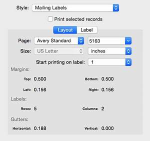 busycontacts mac printing envelopes and mailing labels With how to print mailing address labels