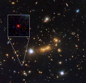 Most distant galaxy ever seen possibly observed using ...