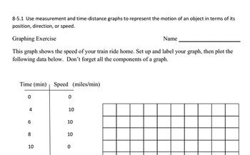 grade science graphing exercise worksheet  renee