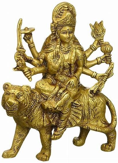 Durga Lion Goddess Seated