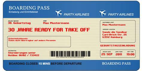 boarding pass zum ausfullen