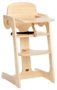 chaise haute bébé en bois chaise haute bois chaise haute bébé