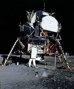 The Apollo 11 Lunar Module Eagle