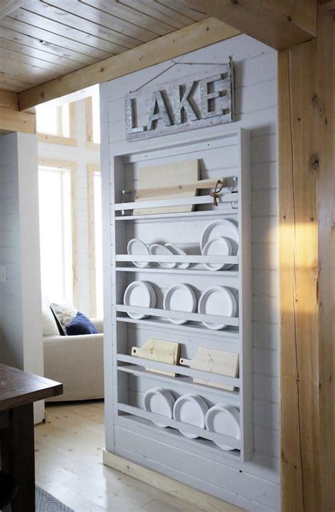 full length plate rack   cabin knock  wood bloglovin