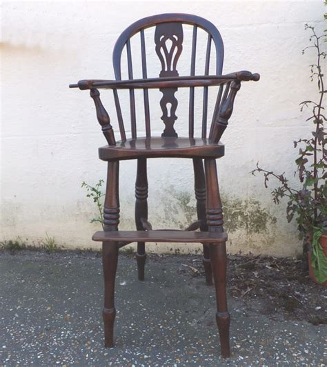 antique childs high chair antique furniture